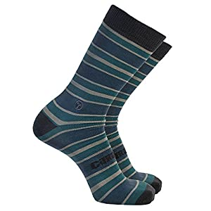 Cariloha Men's Crazy Soft Trouser Socks (L-XL, Steel Blue)