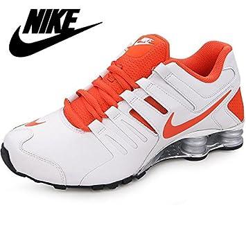 reputable site 687f3 f9c81 Nike Mens Shox Current White Orange 633631-108 Size 6.5  Amazon.co.uk   Sports   Outdoors