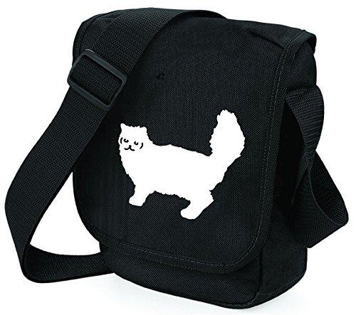 Black hombro poliéster al Bag S de Bag mujer para Bolso Pixie White Cat tqtwPX