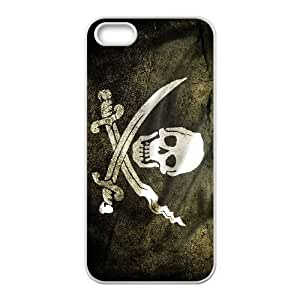 iPhone 5,5S Phone Cases White Pirates of the Caribbean ERG708933