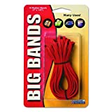 Alliance Sterling Big Bands, Big Red Rubber Bands for Hundreds of Uses, 7 x 1/8-Inch, One Dozen Per Package - 700
