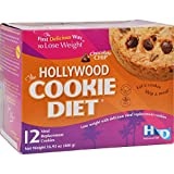 Hollywood Cookie Diet Meal Replacement Cookies, Chocolate Chip- 12 ct by Hollywood Cookie Diet