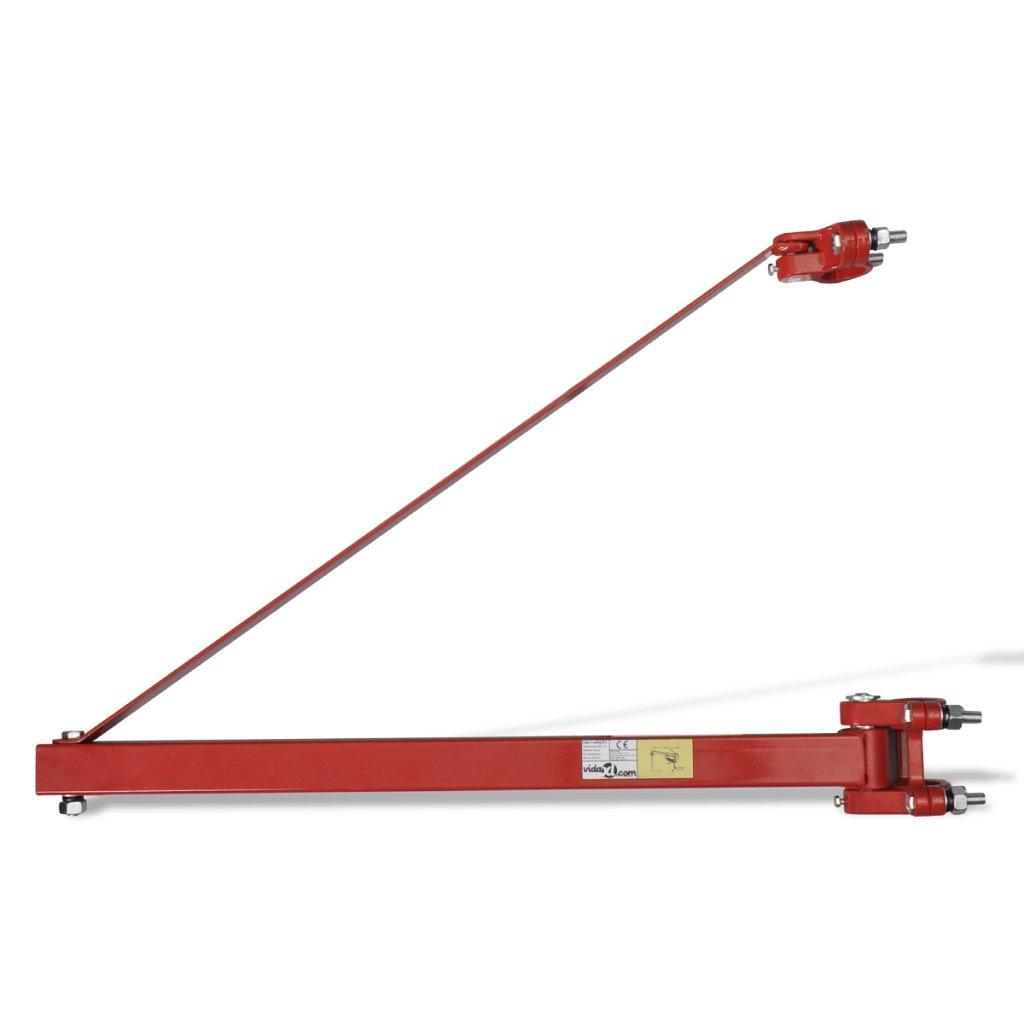 Festnight Hoist Frame Rotating Swinging Swivel Lifting Winch - 600 kg 180 Degrees