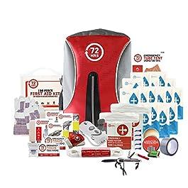 72HRS Deluxe Earthquake Preparedness Kit, Emergency Kit, Survival Kit, Disaster Kit, Hurricane Kit for 1-4 People