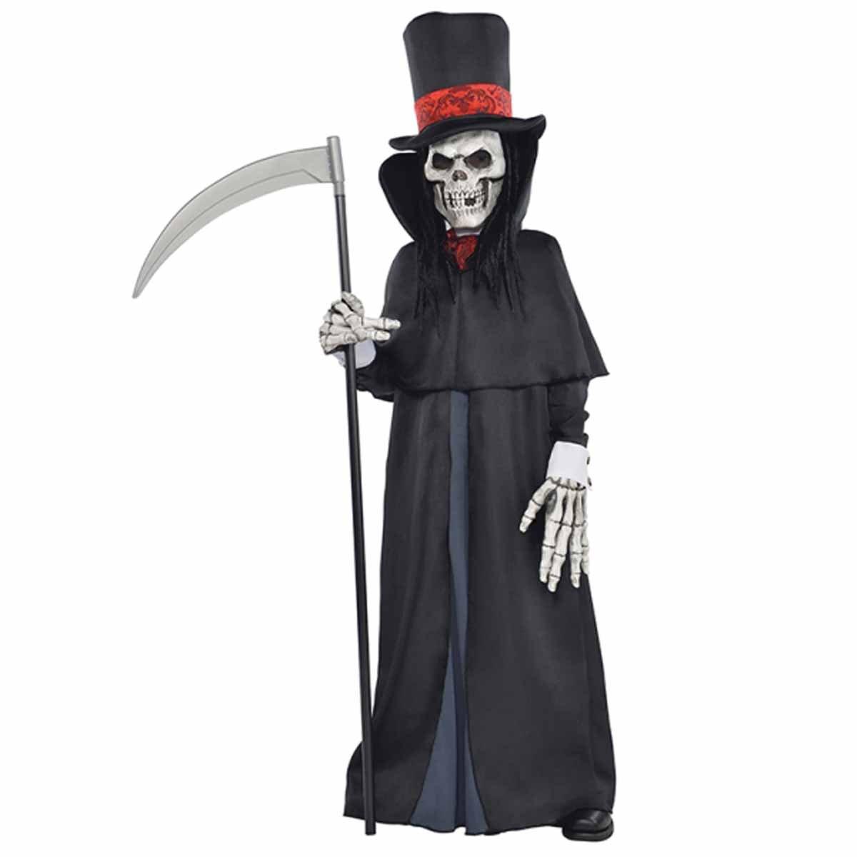 Halloween Horror Sense Gevatter Tod Sensenmann Todessense Henker Kostüm Zubehör