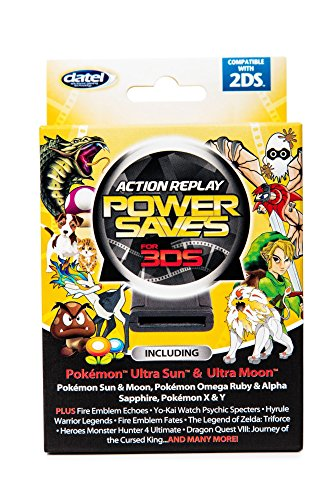 - Action Replay Powersaves 3DS - 2018 Edition
