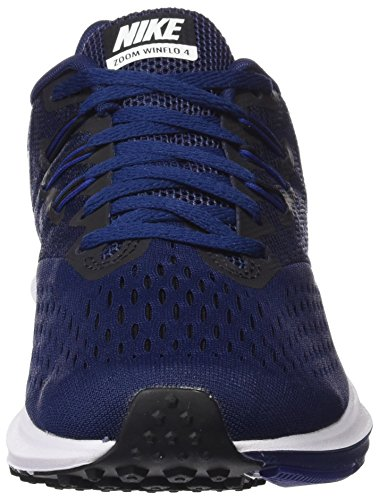 Uomo Blue Nike Scarpe Multicolore da Binary Black Deep Blue White 4 Zoom Royal 400 Winflo Running Trail BZqBA0