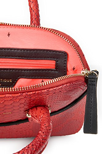 Paul's Boutique, Borsa a mano donna rosso Rot Snake