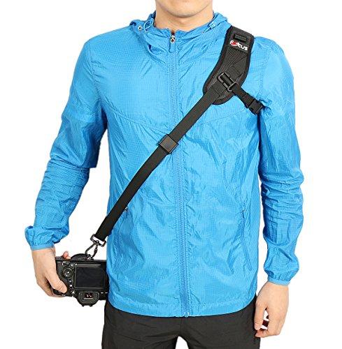 WITHLIN® Professionelle Fotografie Schnelles Sport-Schultergurt für Kamera-SLR DSLR (Canon Nikon Sony Olymp Pentax, etc.)