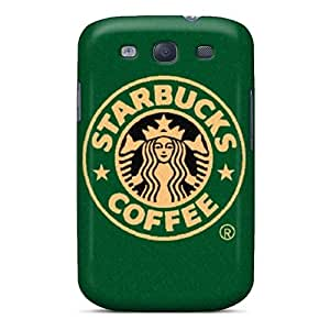 NataliaKrause Samsung Galaxy S3 Anti-Scratch Hard Phone Cases Custom Attractive Starbucks Pattern [MOI8000DPuG]