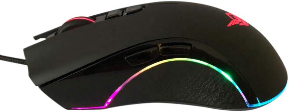 DAMAGE INC SPECTER I – ESPORTS RGB OPTICAL GAMING MOUSE 12,000 Adjustable DPI