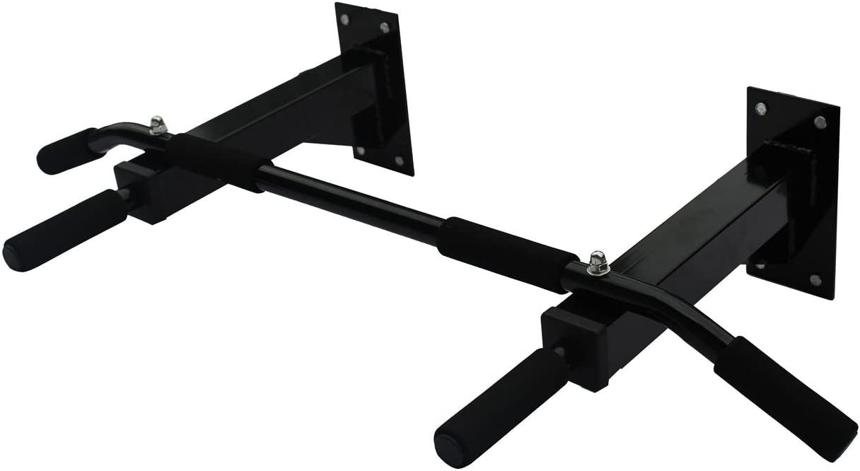 KLB Sport Heavy Duty Wall Mount Pull Up Bar Chin Up Bar