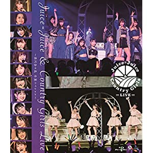 Blu-ray Disc. Juice=Juice & Country Girls LIVE ~Yanagawa Nanami Graduation Special~