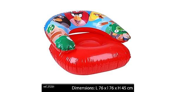 Amazon.com: Angry Birds – Sillón infantil hinchable: Toys ...