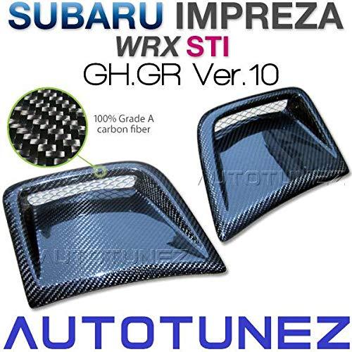 Carbon Fiber Side Vent Bumper For Impreza WRX STI GH GR Intake TUS Subaru
