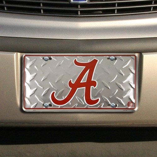 Alabama Crimson Tide License Plate (Diamond ()