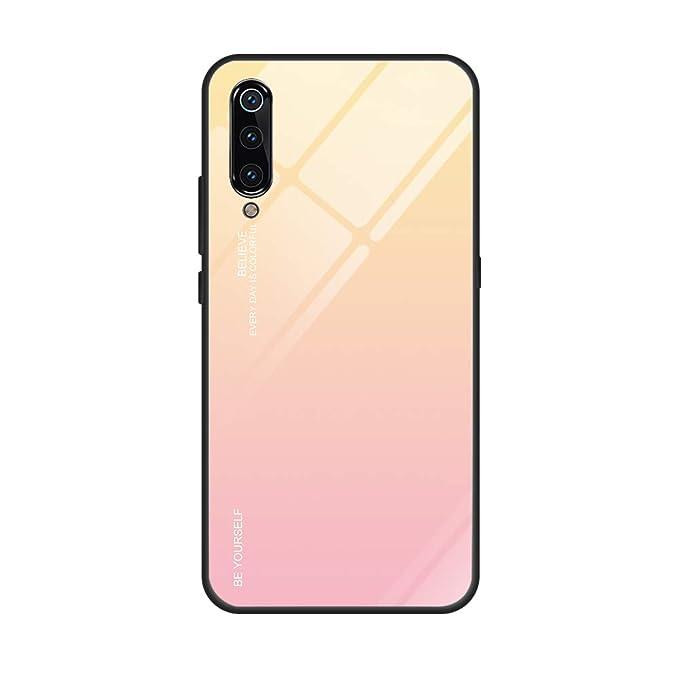 Amazon.com: Xiaomi Mi 9 Funda de Cristal Carcasa Suave TPU ...