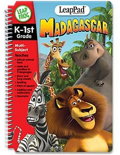 - LeapFrog LeapPad Educational Book: Madagascar