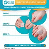 Toe Separators Hammer Toe Straightener - 4-Pack Big