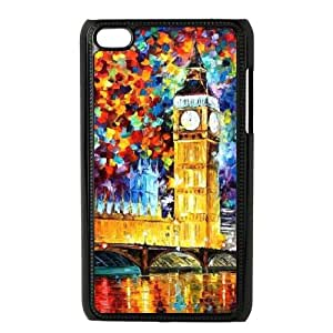 London DIY Cell Phone Case for Ipod Touch 4,London custom cell phone case series 10