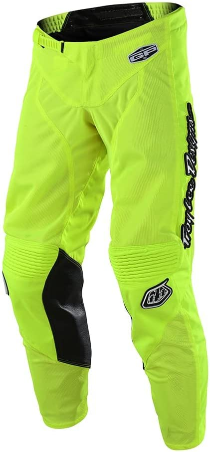 Troy Lee Designs Youth Kids Offroad Motocross GP Air Pant Mono 22, Flo Yellow