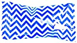 Party Sweets Chevron Royal Blue Buttermints by Hospitality Mints, Appx 300 mints, 7-Ounce Bags (Pack of 6)