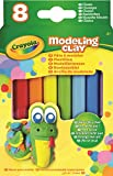 #6: Crayola Modeling Clay (8 Per Pack), 0.6 Ounces Basic