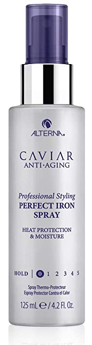Alterna Caviar Professional Styling Perfect Iron Spray, 4.2 Fl Oz
