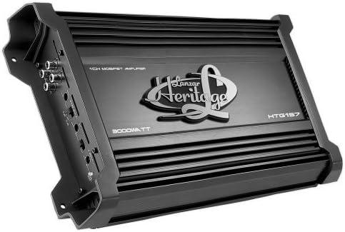 Lanzar HTG157 3000-Watt 2-Ohm Monoblocco Mosfet Amplificatore PreamplificatorOutputChannelQuantit/à 1 MaximumOutputPower 3000-watt Consumer Portable Electronics//Gadgets