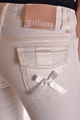 Galliano Jeans Coton MCBI130059O Femme Blanc 71xBnS7g