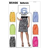 BUTTERICK PATTERNS B5466 Misses' Skirt and