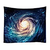 """Xinhuaya Nebula Tapestry Space Decorations,Stars Galaxy in Space Celestial Astronomic Planets in The Universe Milky Way Print, Bedroom Dorm Living Room Wall Hanging (51 W by 60"""" L, Multi 23)"""