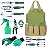 buy INNO STAGE Gardening Tools Set and Organizer Tote Bag with 10 Piece Garden Tools,Best Garden Gift Set,Vegetable Gardening Hand Tools Kit Bag with Garden Digging Claw Gardening Gloves now, new 2020-2019 bestseller, review and Photo, best price $46.95