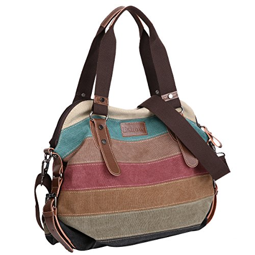 Eshow Bag Cross Messenger mom Bag and Women Body Handbags Canvas Bag Purse Multicolored Shoulder women bag Hobo for S0g0r8wcq