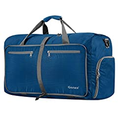 Gonex 80L Foldable Travel Duffel BagWhat's it?This Gonex Travel Duffel Bag is a multipurpose bag with about 80 liters capacity, which can be used as a large sports and gym duffle bag as well as travel duffle when you are on and about. What's ...
