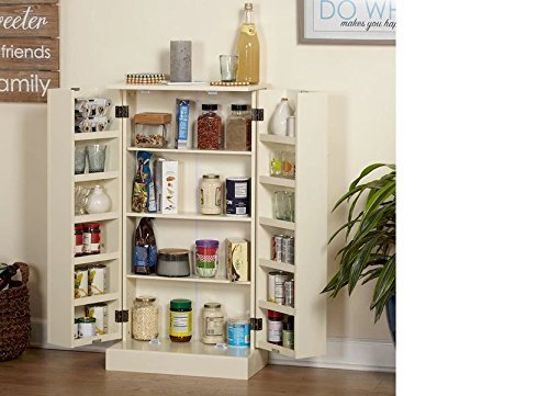 Pine Utility Kitchen Pantry by Simple Living Products (Image #2)