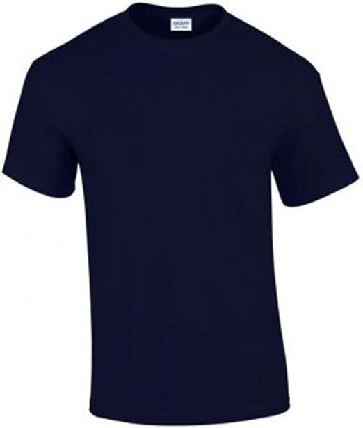 Gildan Hombre Ultra Algodón Camiseta Manga Corta: Amazon.es: Ropa ...