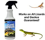 Lizard Defense All Natural Deterrent and Repellent Spray – Safe and Effective for All Types of Lizards and Geckos