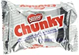Nestle Chunky Chocolate Single Candy Bars, 1.4 Ounce (Pack of 24)