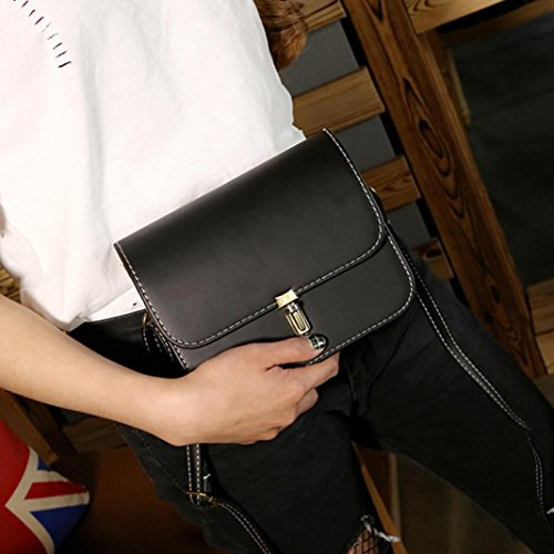 Handbag Shoulder Bag VJGOAL Women Messenger Leather Black Lady Tote Gift Crossbody Satchel a50wOCqTn