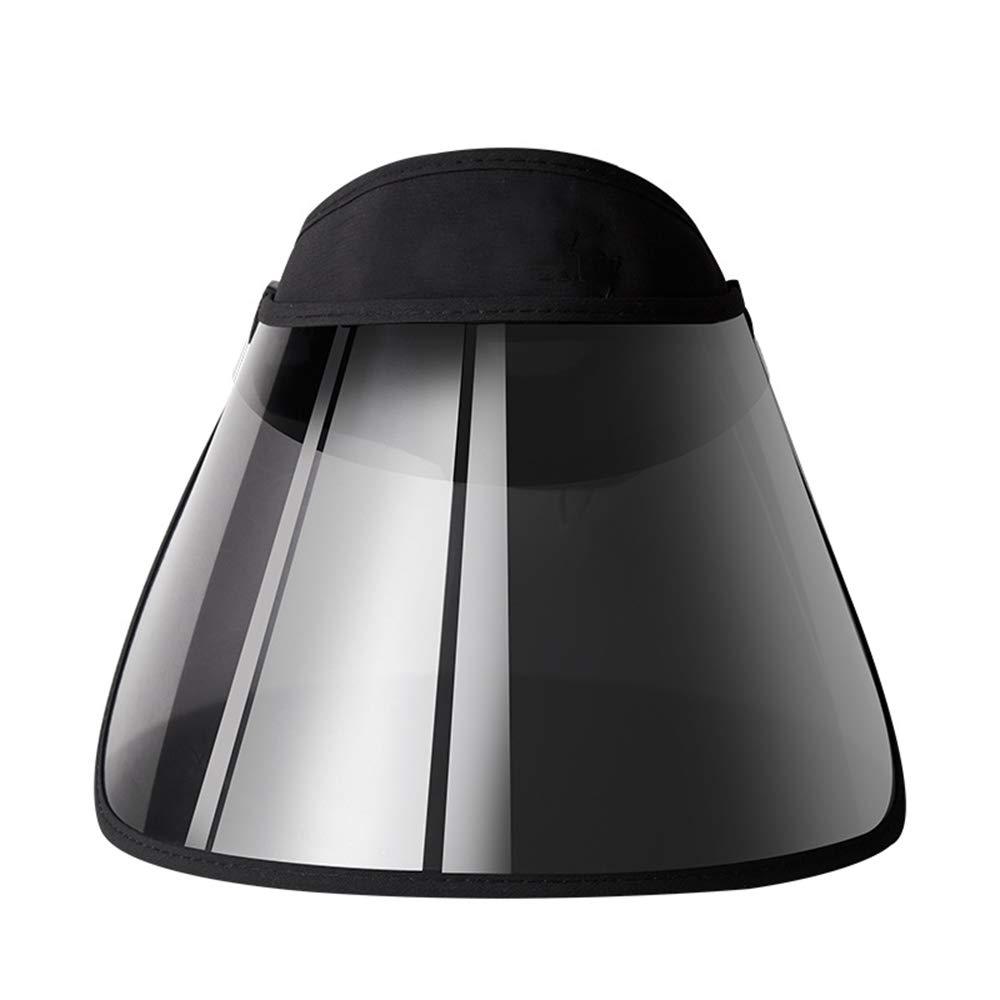 Bellivera Women's Portable Sun Hat Visor Adjustable Wide Brim Cap Folding Headband with UV Protection