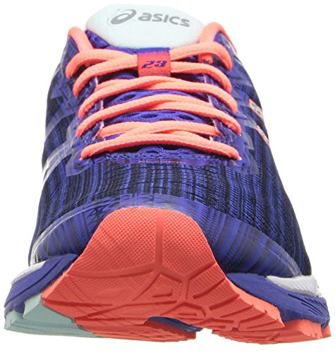 B Blue Shoe Flash Kayano Coral Running 23 Silver Asics Blue Lite US Silver 5 Flash Gel Asics Show Women's Coral 5 T0qx6Tvp