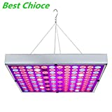 Grow Light 45W, Juhefa LED Grow Lamp with UV IR Panel Full Spectrum Plant Grow Light for Indoor Plants All Growing Stage, Garden Vegetable Flowers Fruits Succulents Seedlings