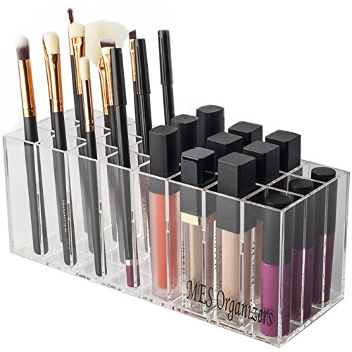MES Organizers Acrylic Lip Gloss And Lipstick Holder – 24