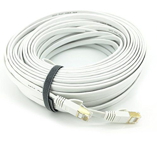 Flat Cable Shield : Pasow cat gigabit ultra flat ethernet patch cable