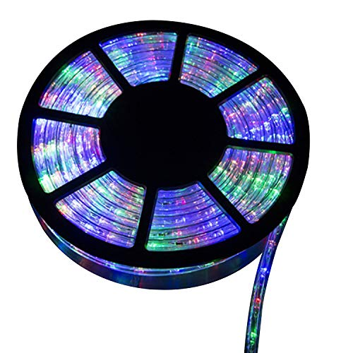 Doitpower 45M 150Ft 1620 LEDs Rope Light Home in/Outdoor Christmas Decorative Party Lighting Color ()