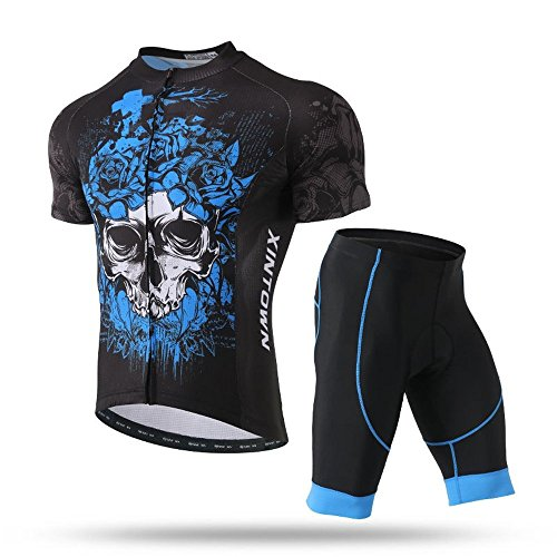 Pinjeer Blue Enchantress Skull Style Latest Dresses In This Summer,Cycling Clothing Sets Trousers Anti-slip Strap Men Outdoors Riding,Sports Boys Jersey Shorts men Plus Size