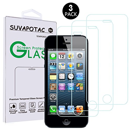 iPhone Screen Protector SUVAPOTAC Tempered