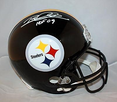 Rod Woodson Autographed White Pittsburgh Steelers F/S Helmet- JSA W Auth HOF