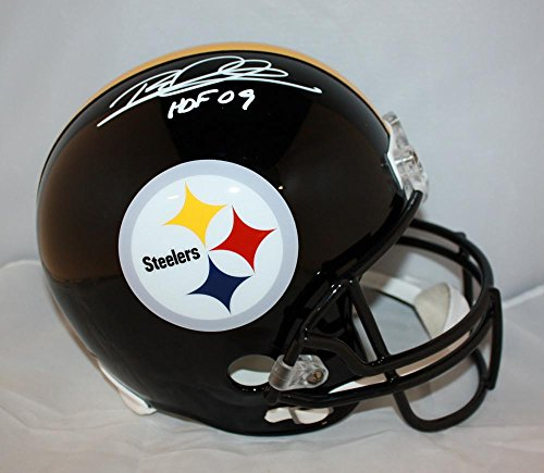 Rod Woodson Autographed White Pittsburgh Steelers F/S Helmet- JSA W Auth HOF (Autograph Woodson)
